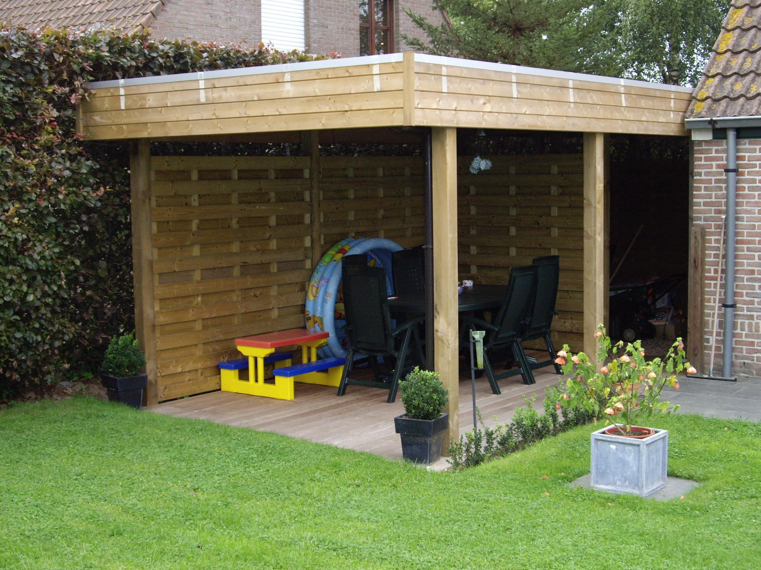 Buitenschrijnwerk op maat ieper schrijnwerkerij braem interieur aanbod braem interieur - Overdekt terras in hout ...